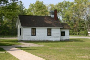 Big Blue Lake's Original Schoolhouse
