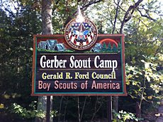 Gerber Scout Camp (Gerald R Ford Council)