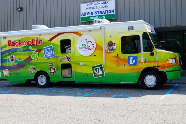 Bookmobile comes to Blue Lake Township